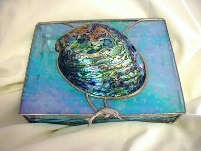 Abalone jewelry box