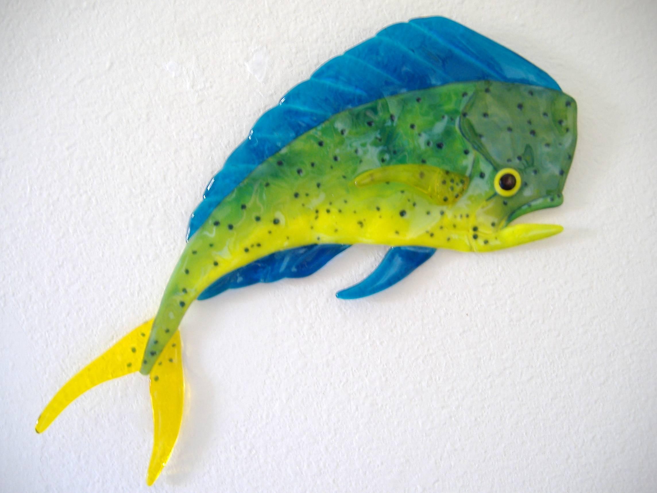 Dolphin fish mahi cake ideas and designs for Mahi mahi fish